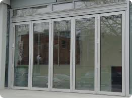 business glass front door and