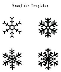 Free Printable Snowflake Templates Printable Snowflake Templates