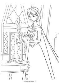Disegni Da Stampare E Colorare Di Elsa Frozen Img
