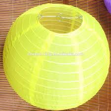 30 Cm Gele Kleur Ronde Rijstpapier Lamp Shades Lantaarns Voor