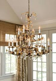 hand wrought iron chandelier