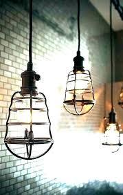 hanging light covers cool lighting idea make this hemp twine pendant conversion kit brushed nickel