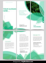 3 Panel Brochure Template Word Format Free Download