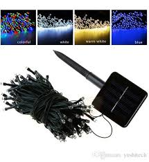 100 led 200 led outdoor 8 modes solar powered string light garden party fairy lamp 10m 22m outdoor lights string outdoor light strings from