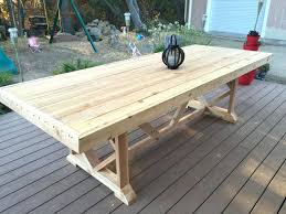 diy outdoor farmhouse table. Medium Size Of Farmhouse Kitchen Tables Dining Table Build With Leaf Diy Outdoor Ideas Round Plans
