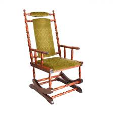 wooden rocking chair. scandinavian wooden rocking chair, 1950s chair w