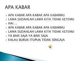 Ppt Apa Kabar Powerpoint Presentation Id4184240