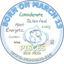 13 Sign Astrology Birth Chart March 13 Zodiac Horoscope Birthday Personality Sunsigns Org