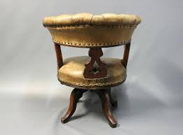 office chair vintage. Retro Leather Office Chair Vintage Armchair Great Antique For Nautical Swivel .