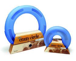 Vintage plastic loop toy circles
