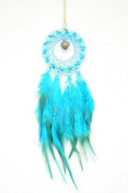 Small Dream Catchers For Sale Sale blue dreamcatcher small dream catcher hearts rear view 47