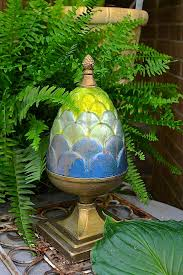 garden decor projects with modern masters s metallic paint collection project by debbie hayes