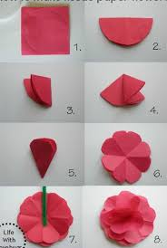 Flower Out Of Paper How To Make Flower Out Of Paper Rome Fontanacountryinn Com