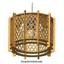 blag zadaj simetrija wooden chandelier