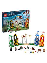 Конструктор <b>LEGO</b> Harry Potter 75956 Матч по квиддичу ...