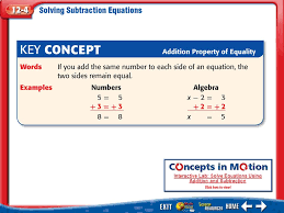 7 kc interactive lab solve equations using addition and subtraction
