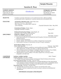Resume Builder Objective Examples Gallery of teenage resume examples objective for school graduate 51