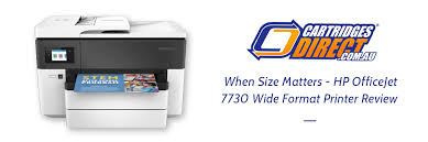 When Size Matters Hp Officejet 7730 Wide Format Printer Review