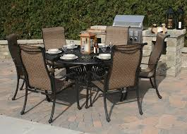 patio outstanding 6 chair set tables that seat wonderful round outdoor dining
