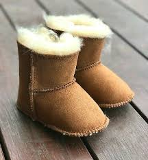 baby ugg boots australian merino sheepskin lambskin shoes choose size chestnut