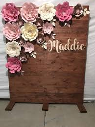 Paper Flower Backdrop Rental Paper Flower Backdrop Rentals For Sale In Inglewood Ca
