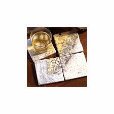 Nautical Chart Holder Nautical Chart Coasters