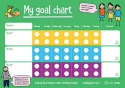Childrens Dvd Chart Healthy Kids My Goal Chart Healthed