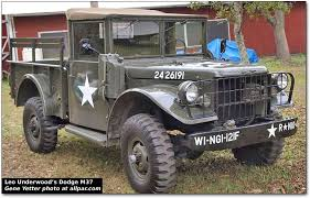 leo underwood s vintage dodge and willys military trucks dodge m37 military truck
