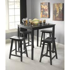 Living Room Furniture Belfast Simple Living Black Belfast 5 Piece Saddle Dining Set Free