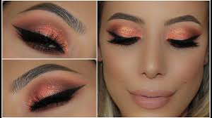 c peach glitter