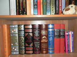 barnes noble classics leatherbound edition shelf