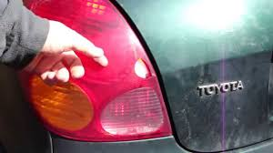 How to fix hole in Toyota Corolla rear light cover and save 100 US ...