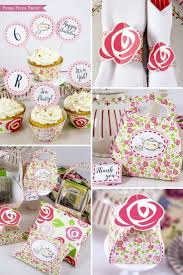 Tea Party Ideas - Adorable Tea Party Printables and tea party Decorations.  Perfect for a