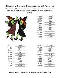 Excel : Kindergarten Comparing And Ordering Decimals Converting ...