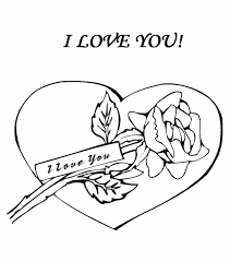 Small Picture Coloring Pages That Say I Love You Kids Coloring