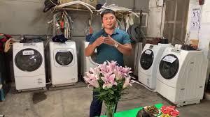 Giới thiều dòng máy sanyo nhật nội địa Phần 1 giặt được tất cả tác vụ trong  dv giặt là -0968632166 - YouTube
