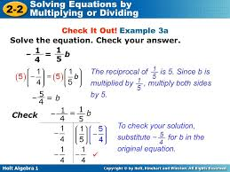 solve each equation check your solution tessshlo