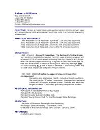 Show Me An Example Of Resume Examples Resumes Objective How To Write