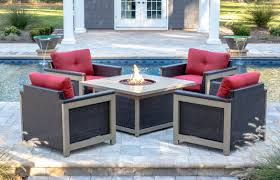 source outdoor furniture vienna. Hanover Montana 5 Piece Fire Pit Source Outdoor Furniture Vienna S