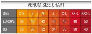 Venum Shorts Size Chart Venum Size Guide