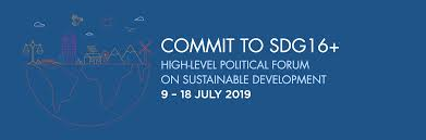 Sdg16 At The Hlpf Pathfinders For Peaceful Just And