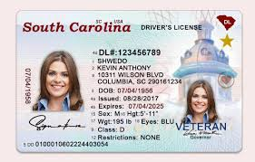 Psd Carolina South Drivers Us Template License