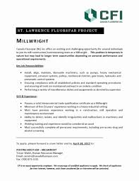 Millwright Resume Sample Cover Letter Chemical Operator Resume Sam Sevte 21
