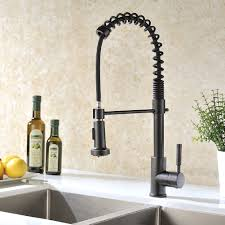 Delta Touchless Kitchen Faucet Kitchen Bronze Kitchen Faucets With Awesome Touchless Kitchen
