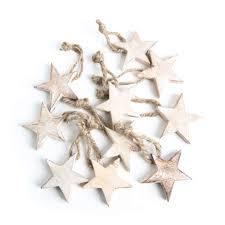 10 Stück Holzsterne Sterne Holz Weihnachtssterne 5 Cm Braun Hellbraun Natur Weihnachtsanhänger