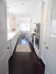 Dark Wood Floors In Kitchen Painted Kitchen Cabinets With Dark Wood Floors Quicuacom