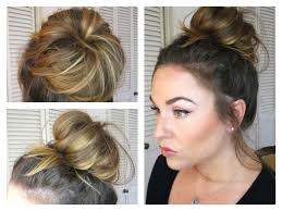 Top Knot Hair Style messy buntopknot tutorial how to get a big bun with fine hair 1435 by wearticles.com