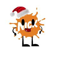 old nickelodeon splat logo says merry chirstmas by khamisabdi