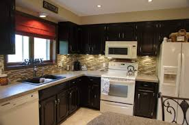 How To Clean Black Appliances Kitchen Cabinets Furniture Black Color Staining Oak Kitchen