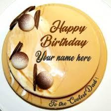 Write Name On Father Birthday Cake Images My Name Pix India